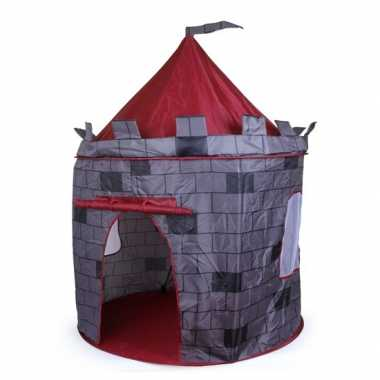 Kinder  Grijze kasteel speeltent