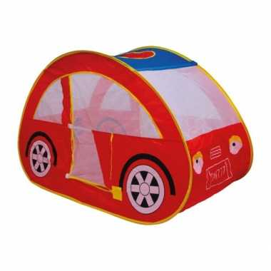 Kinder rode auto speeltent