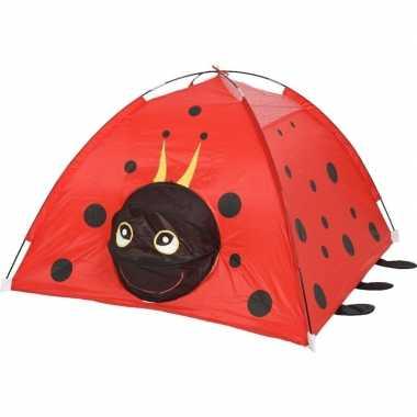 Kinder speelgoed speeltent lieveheersbeestje dier/insect 120 x 120 x 80 cm