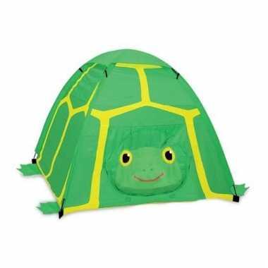 Schildpad speeltent voor kinderen